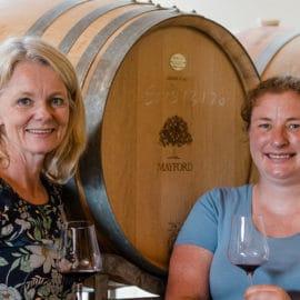 Billy Button Mayford Wines winery vineyard barrels jo marsh eleana anderson
