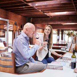 Brown Brothers tasting wine King Valley