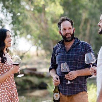 Wine enthusiast Broken River tour Saffron Gramaphone